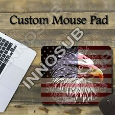 "American Eagle Flag Cool Mouse Pad 1/8"" thick-7.75""x9.25"" Gaming Mousepad"