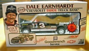 Dale Earnhardt #3 Brookfield Collectors Guild NASCAR Diecast Chevy Tahoe Bank