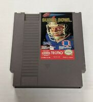 Tecmo Super Bowl (Nintendo NES, 1991) Authentic Cartridge Tested & Working