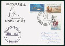Mayfairstamps Australia 1994 Macquarie Island German MV Icebird Hamburg Penguin