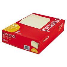 Universal 1/3 Assorted Cut Legal Size File Folders Top Tab Manila - 100 ct.