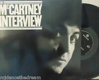 PAUL McCARTNEY - The Mccartney Interview ~ VINYL LP