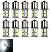 Lot10 Warm White 1156 13-SMD RV Camper Trailer LED Interior Light Bulb 12V Sales