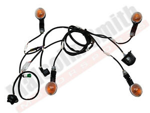 2014 Husaberg FE250 FE 250 OEM Front Rear Turn Signals Switch Wire Harness