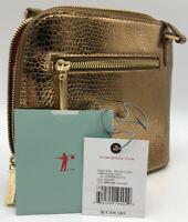 HOBO International CAMILLA Copper Exotic Small Crossbody Leather Bag NWT