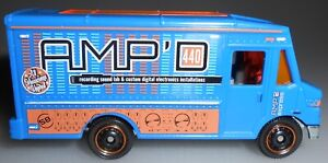 Matchbox Express Delivery Blue AMP Loose