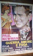 FILM-GUERRA AMORE E FUGA,ANNO 1968-MANIFESTO ORIGINALE(200 X 140)N.215