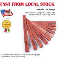 10pcs 120/150/180/220/240/320/400/600/800/1000# Sharpening Stone Knife Sharpener