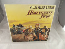 Willie Nelson Family Honeysuckle Rose OST Vinyl Original Oz Press 1980 GF 2xLp