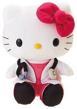 Hello Kitty Doctor Outfit Plush Soft Toy