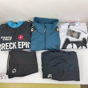 CASTELLI Izumi lot of 5 Men's 2 Bib Short 2 jersey & 1 Jackets Cycling M Biker