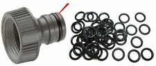 50 pcs Gardena Hozelock Connector O-Ring Seal Spares for Garden Hose Reel Nozzle