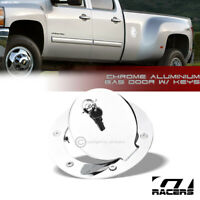For 2007-2014 Chevy Silverado/GMC Sierra Chrome Aluminum Fuel Gas Door Cover