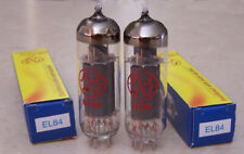 JJ Tesla EL84 Tubes  Matched Pair