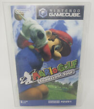 Mario Golf Toadstool Tour - Nintendo Gamecube (GC) - Korean Version - Complete!
