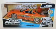 Modellini statici di auto, furgoni e camion arancione Fast & Furious