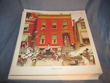 Norman Rockwell's print The Street will Never Be The Same
