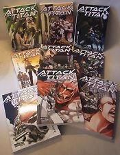 Manga Sammlung ATTACK ON TITAN Band 1-9