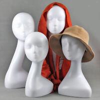 Manichino Donna Manichino Testa Parrucca / Cappello Gioielli Occhiali Sciarpa