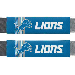 Detroit Lions NFL Rally Seat Belt Pad Set of 2