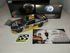 2018 BRAD KESELOWSKI #2 MILLER GENUINE DRAFT DARLINGTON WIN LIQUID COLOR ELITE