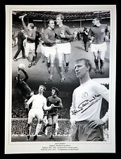 Jack Charlton Signed England And Leeds  12x16 Football Photograph