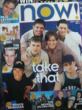 NOW! MAGAZINE NO 4 JULY 1994 - TAKE THAT - EAST 17 - BAD BOYS INC