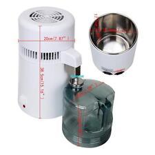 Tragbares Dental Wasser Destilliergerät Innenteil aus Edelsta Water Distiller 4L