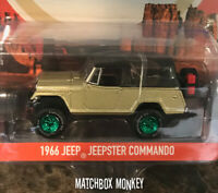 Greenlight Green Machine 1966 Jeepster Commando Wrangler Chase RARE Jeep