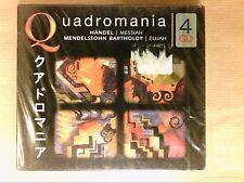 BOITIER 4 CD / QUADROMANIA / HAENDEL, MENDELSSOHN / NEUF SOUS CELLO