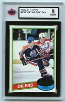 1980-81 Topps #250 Wayne Gretzky Graded 8.0 NMM - Unscratched (*G2020-031)