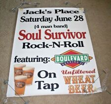 Boulevard Brewing Company Poster Jack's Place Soul Survivor 4 Man Rock-N-Roll