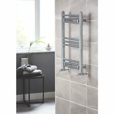BLYSS LEYBURN CHROME TOWEL RADIATOR Heated Towel Rail (H)700MM (W)500MM