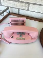 Vintage Western Electric Bell System Pink Princess 10 Button 2 Line Telephone