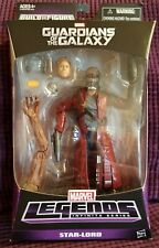 Marvel Legends Infinite Series Guardians of the Galaxy Star-Lord BAF Groot NEW