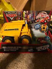 Rare Colossus XXL Disney Pixar Cars Micro Drifters Dump Truck Mattel Red 4+ NEW