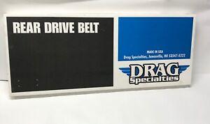 Harley-Davidson Drag Specialties Rear Drive Belt 1204-0042 New 128T Harley H-D
