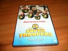 Super Troopers (DVD, Widescreen 2002) Steve Lemme, Kevin Heffernan Used