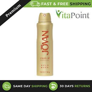 Jovan Gold Musk Oil Deodorant Spray For Women 150 Ml