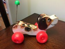 Vintage Fisher Price Little Snoopy Pull Toy - Late 1960's  *T