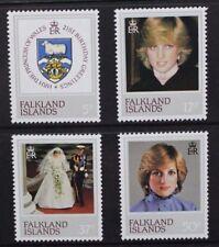 FALKLAND ISLANDS 1982 21st Birthday. Set of 4. Mint Never Hinged. SG426/429.
