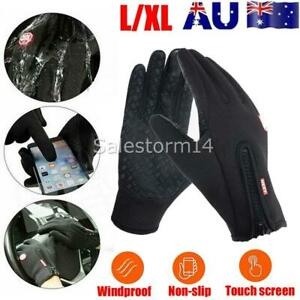 L/XL Bike glove full finger gym cycling gloves touch screen Breathable windproof