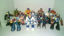 Fisher Price Rescue Heroes Police Astronauts Rescue Hero lot of 12 Figures