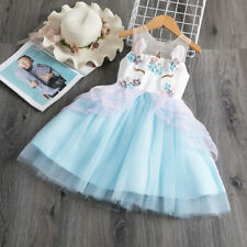 Unicorn Dresses for Girl Party Dress Cosplay Carnival Costume Kids Party Dress