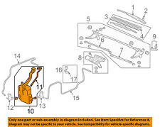 HONDA OEM 03-11 Element Wiper Washer-Windshield Fluid-Reservoir Tank 76840SCVA01