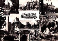 Saalfeld / Saale , Die Stadt der Feengrotten, DDR , Ansichtskarte