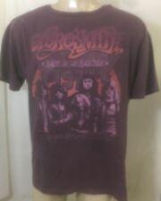 Trunk LTD Aerosmith Back In The Saddle Mens Band T shirt - Purple Vintage new