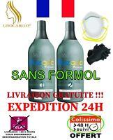 Lissage au Tanin 2x150ml (Taninoplastie)BlueGold Premium+1masque+1paire gant PRO