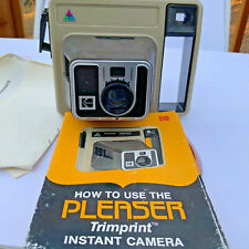 Vintage Kodak Kodamatic Pleaser II Instant Collectible Camera with instructions