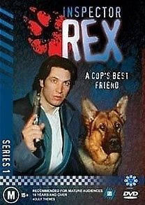 Inspector Rex : Series 1 * PAL * Drama SBS FREE TRACKED POSTAGE PAL 4